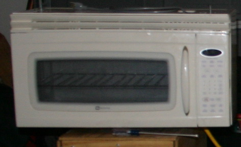 And we got a matching (Maytag) over the oven microwave w/ a hood.